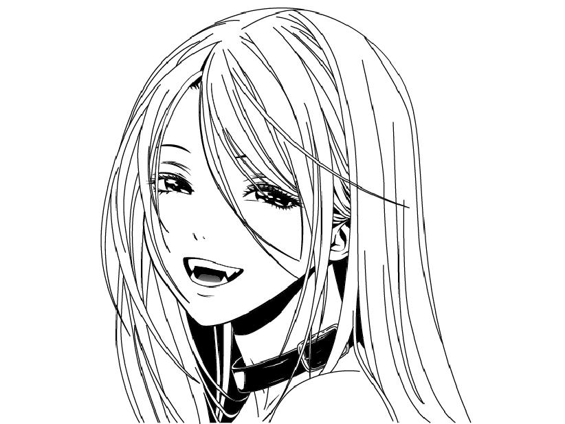 Картинки аниме вампиры девушки (16)