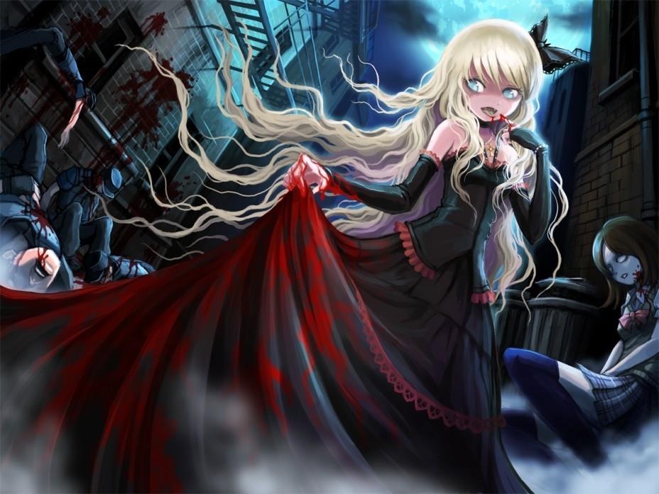 Картинки аниме вампиры девушки (21)