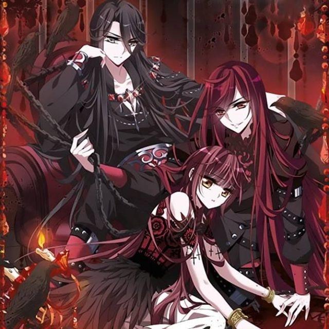 Картинки аниме вампиры девушки (3)