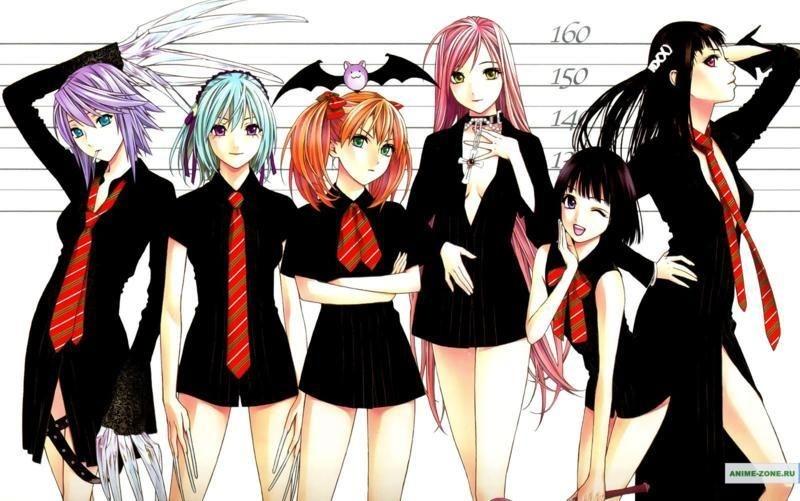 Картинки аниме вампиры девушки (8)