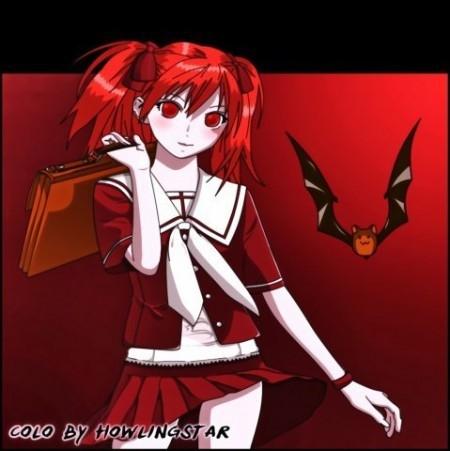 Картинки аниме вампиры девушки (9)
