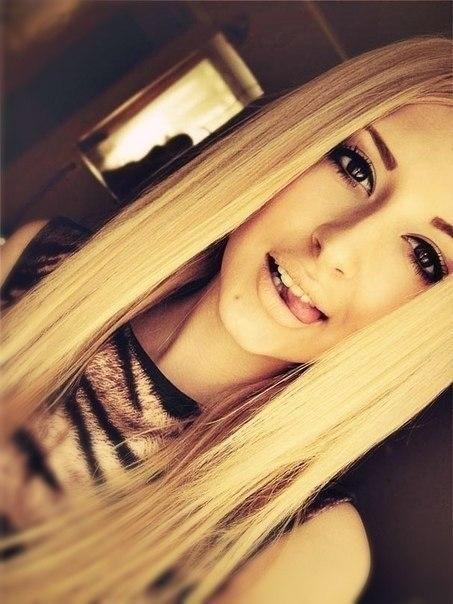 Картинки девушек на аву блондинок013
