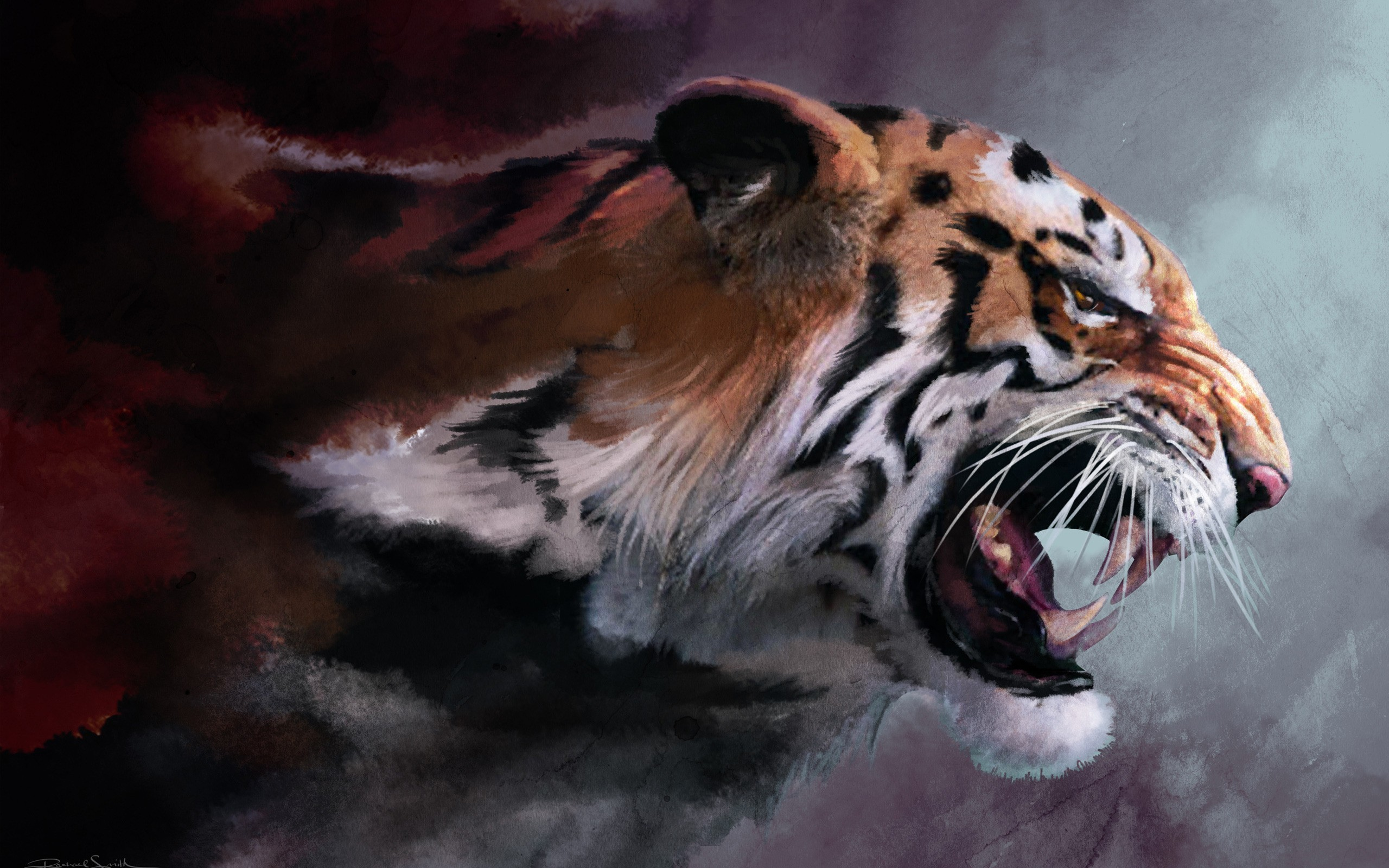Картинки на рабочий стол тигр (1)