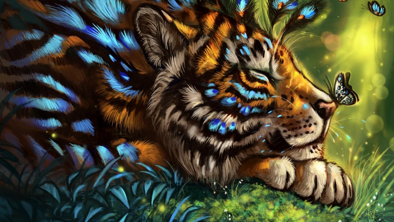 Картинки на рабочий стол тигр (10)