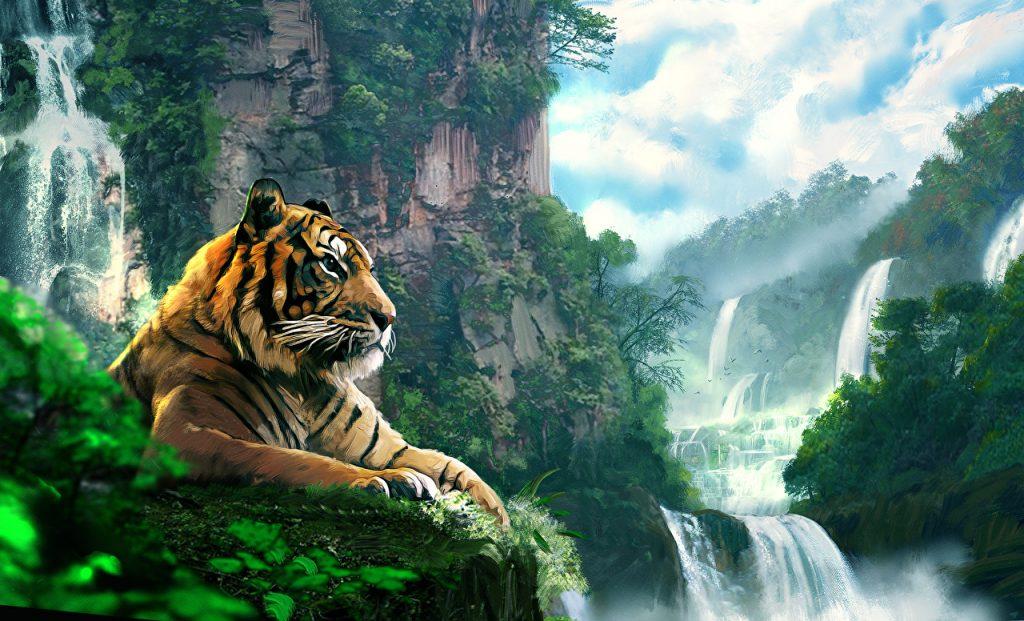 Картинки на рабочий стол тигр (15)