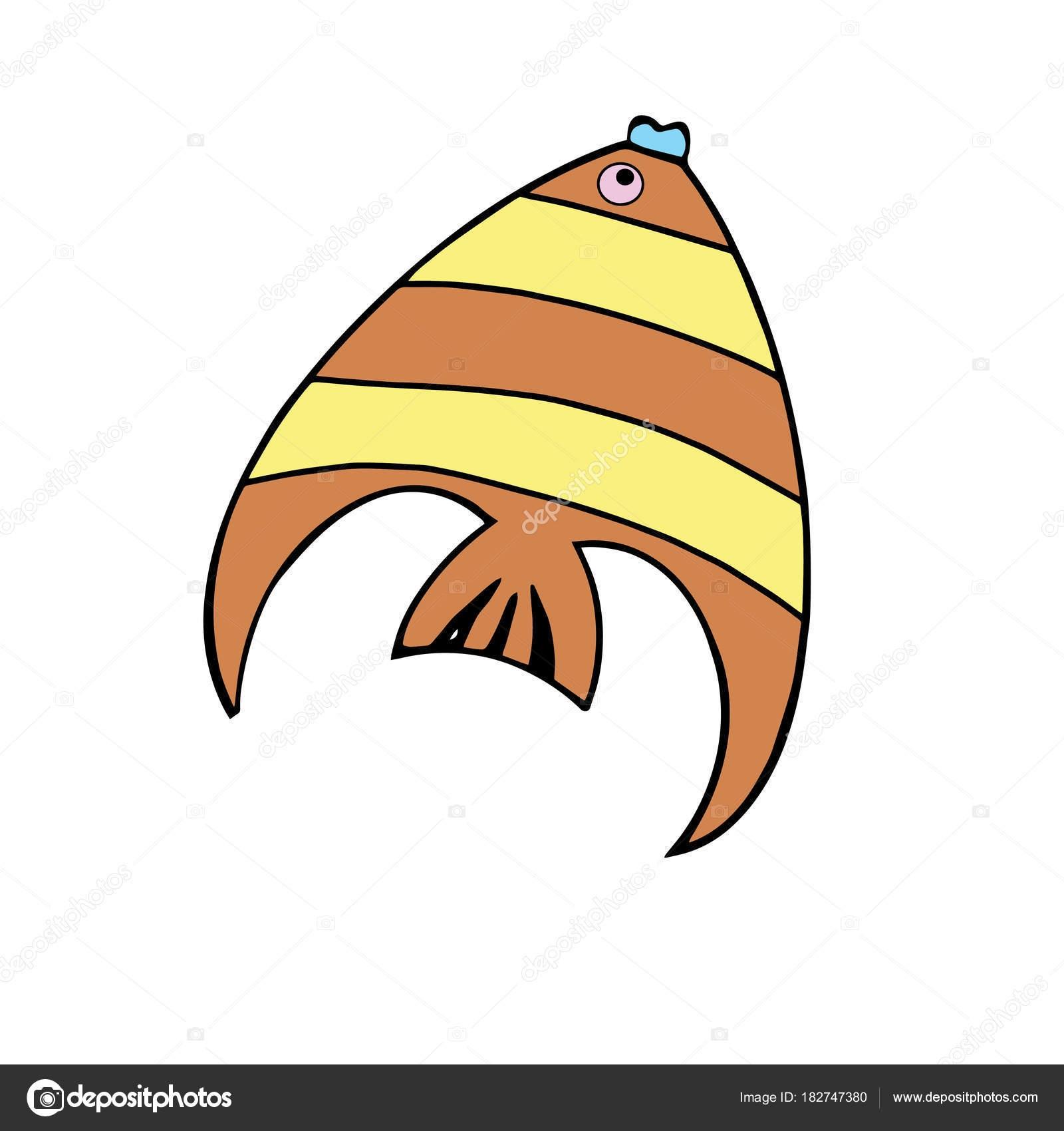 Картинки рыбки для детей на белом фоне (23)
