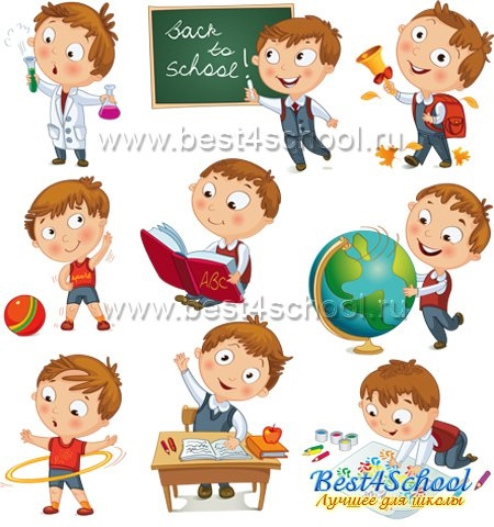 Картинки с детьми рисованные (10)