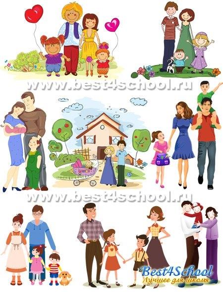 Картинки с детьми рисованные (22)