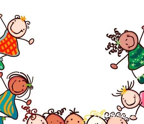 Картинки с детьми рисованные (3)