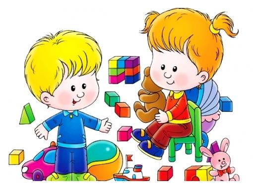 Картинки с детьми рисованные (4)