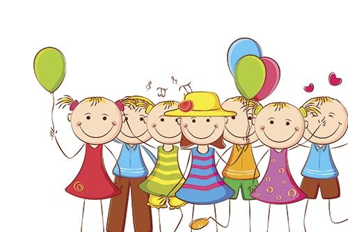 Картинки с детьми рисованные (5)