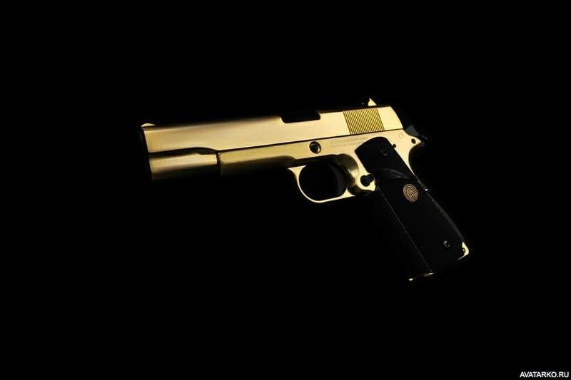 Классные картинки с пистолетом на аву003