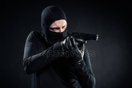 Классные картинки с пистолетом на аву009