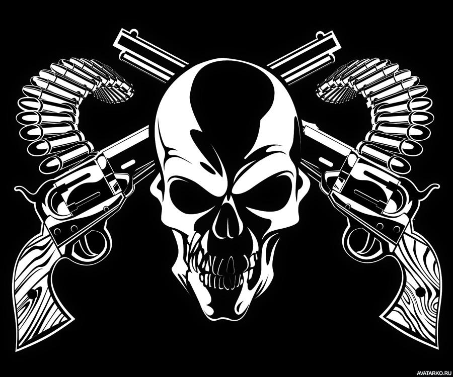 Классные картинки с пистолетом на аву011