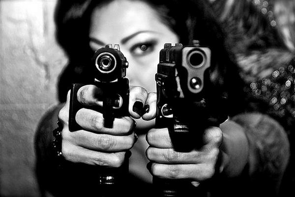 Классные картинки с пистолетом на аву018