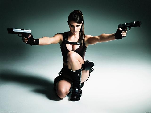 Классные картинки с пистолетом на аву022