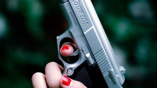 Классные картинки с пистолетом на аву024