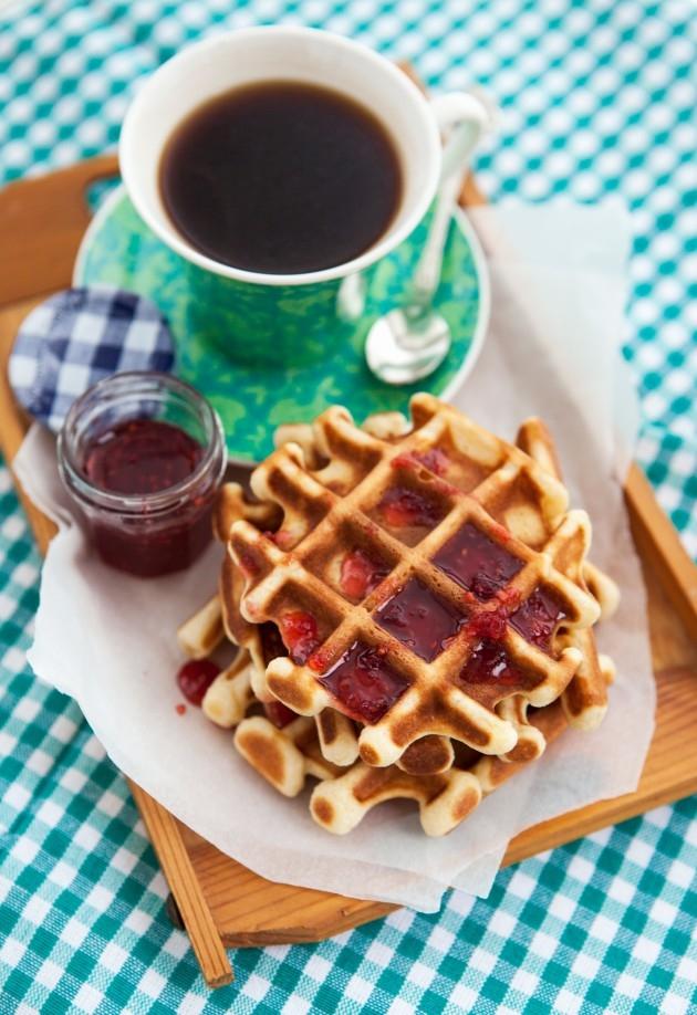 Красивые картинки с кофе и завтраком006
