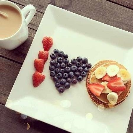 Красивые картинки с кофе и завтраком009