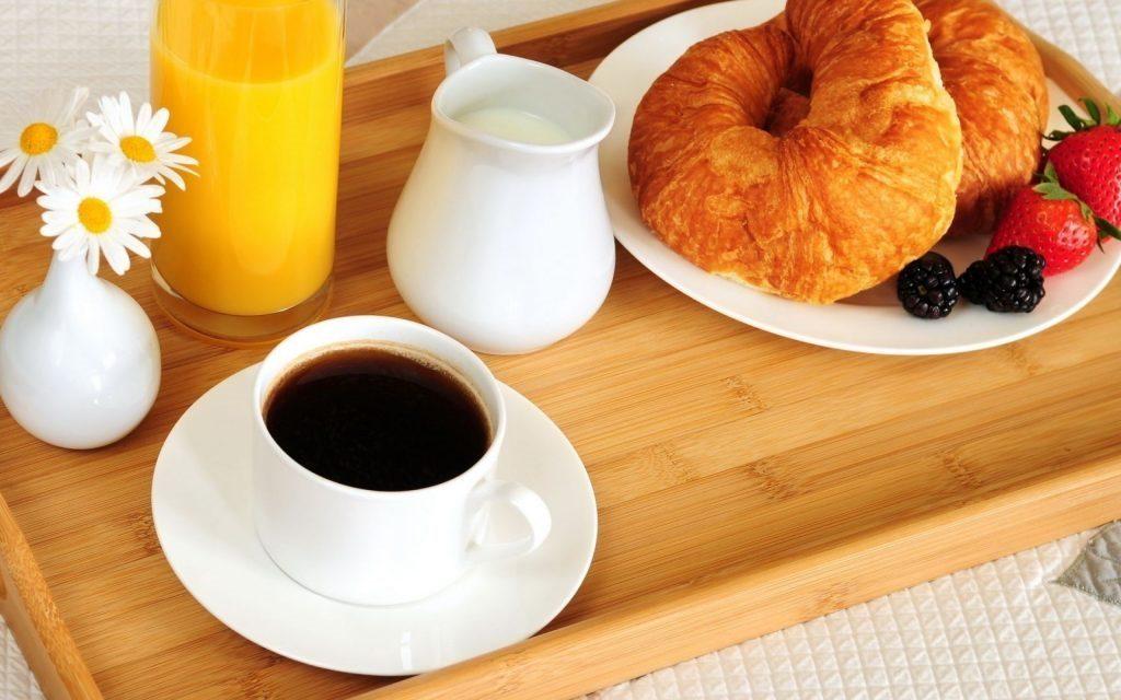 Красивые картинки с кофе и завтраком010