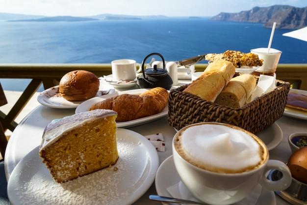 Красивые картинки с кофе и завтраком015