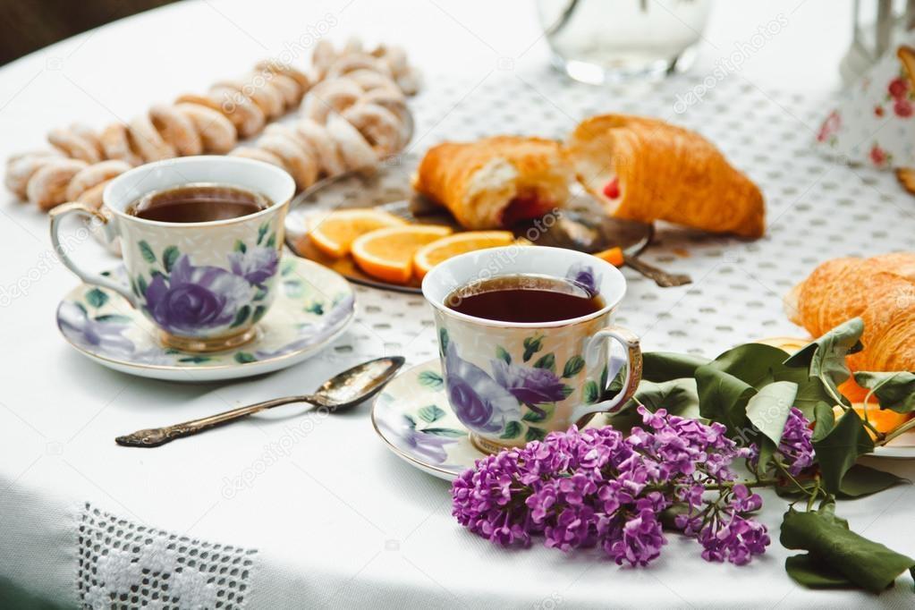Красивые картинки с кофе и завтраком016