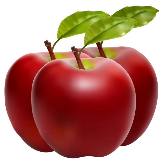 Красивые картинки яблоко на прозрачном фоне (2)
