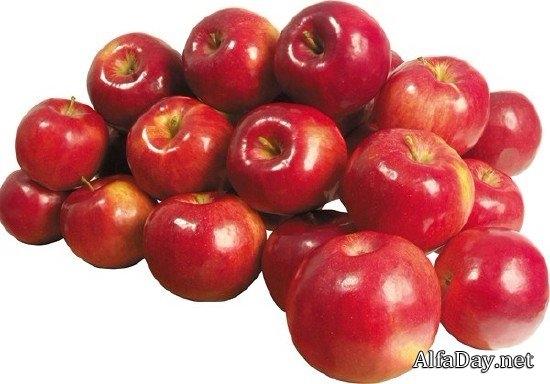 Красивые картинки яблоко на прозрачном фоне010