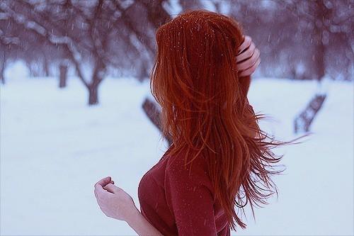 Красивые фото рыжей девушки на аву в ВКонтакте - 20 картинок (11)