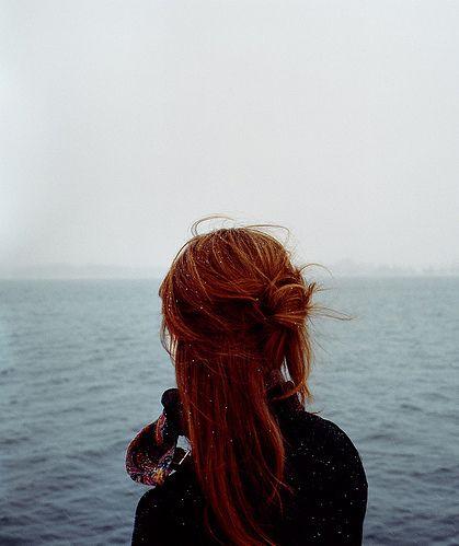 Красивые фото рыжей девушки на аву в ВКонтакте - 20 картинок (16)