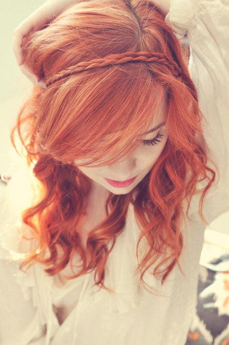 Красивые фото рыжей девушки на аву в ВКонтакте - 20 картинок (27)