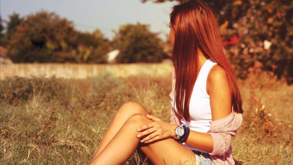 Красивые фото рыжей девушки на аву в ВКонтакте - 20 картинок (28)