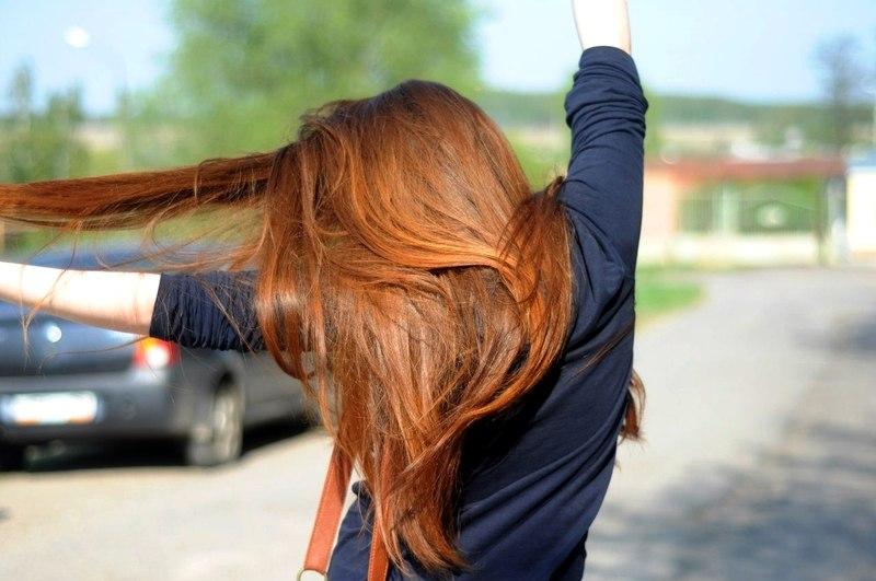 Красивые фото рыжей девушки на аву в ВКонтакте - 20 картинок (3)