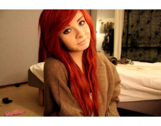 Красивые фото рыжей девушки на аву в ВКонтакте - 20 картинок (5)