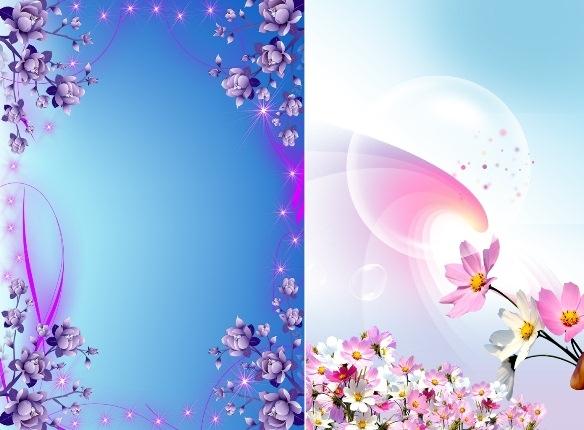 Красивый фон цветы для фотошопа008