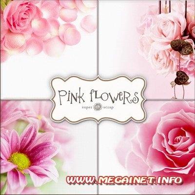 Красивый фон цветы для фотошопа015