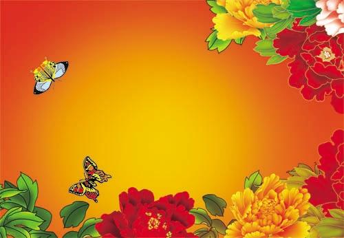 Красивый фон цветы для фотошопа016