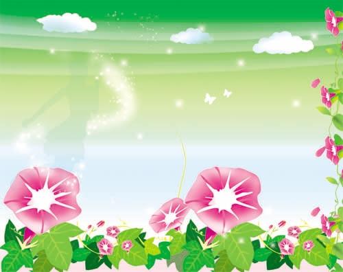 Красивый фон цветы для фотошопа017