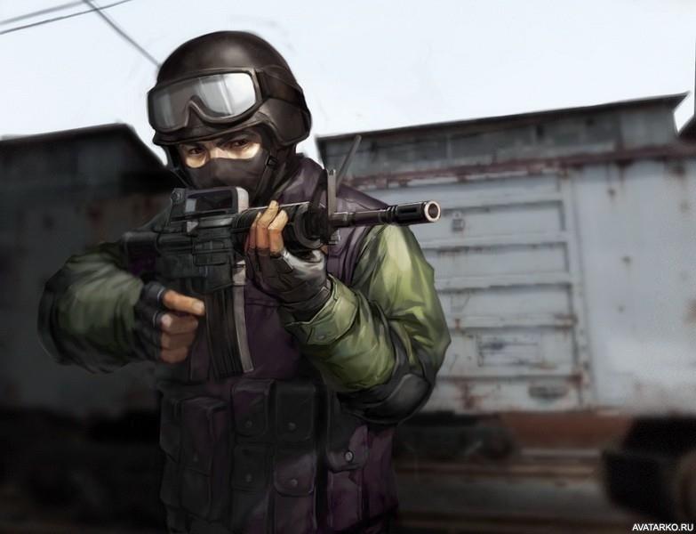 Крутые картинки на аву с оружием001