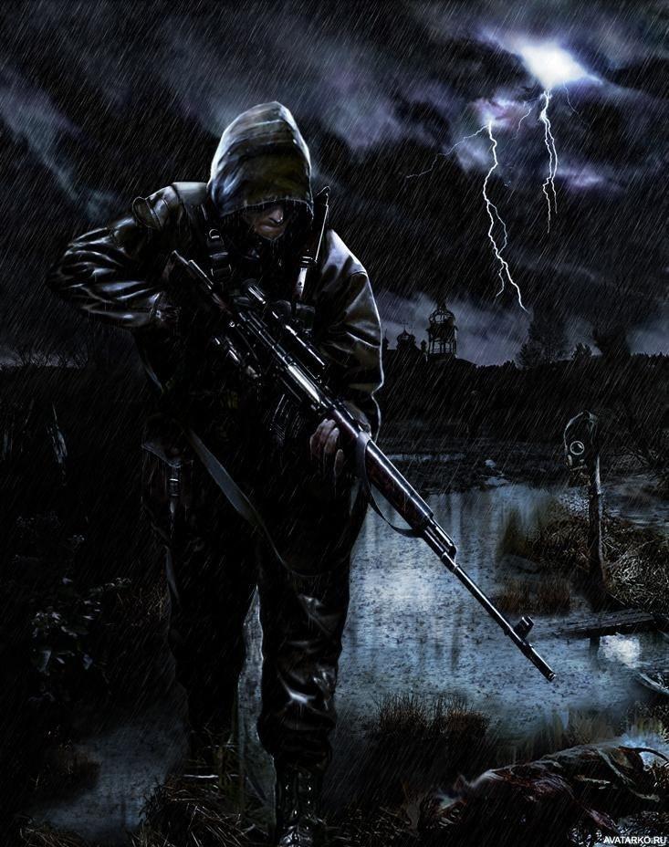 Крутые картинки на аву с оружием003