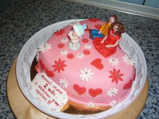 Надпись на торт подруге 006