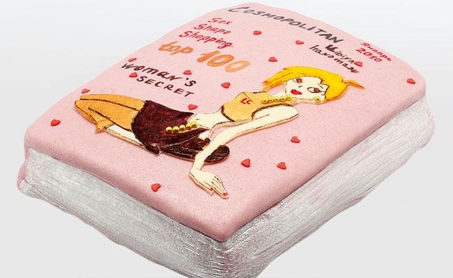Надпись на торт подруге 011