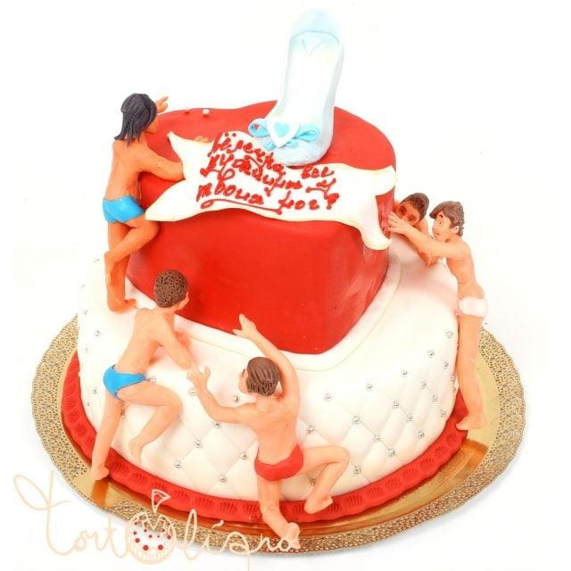 Надпись на торт подруге 014