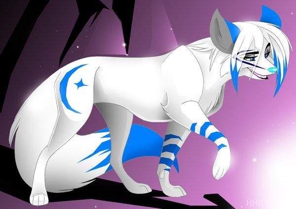 Рисунки для срисовки волки аниме006