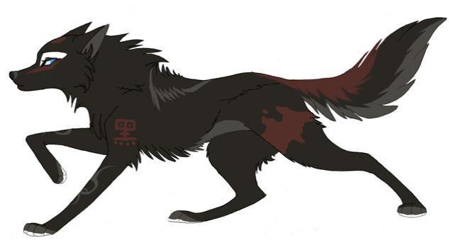 Рисунки для срисовки волки аниме011