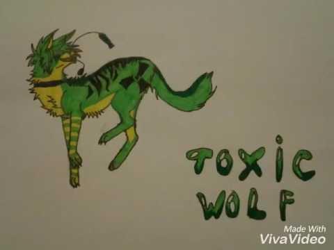 Рисунки для срисовки волки аниме013