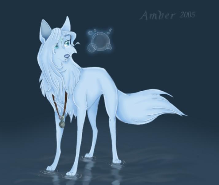 Рисунки для срисовки волки аниме020