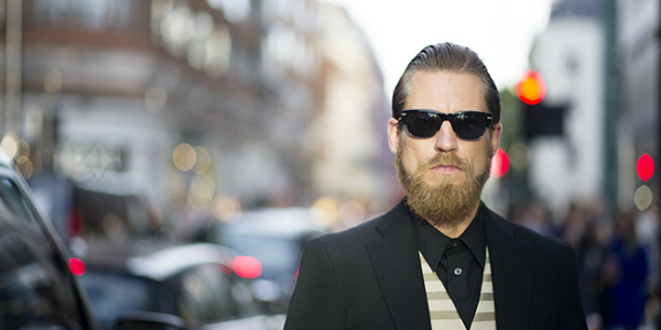 Фото мужчин в очках и с бородой - подборка 20 картинок (11)