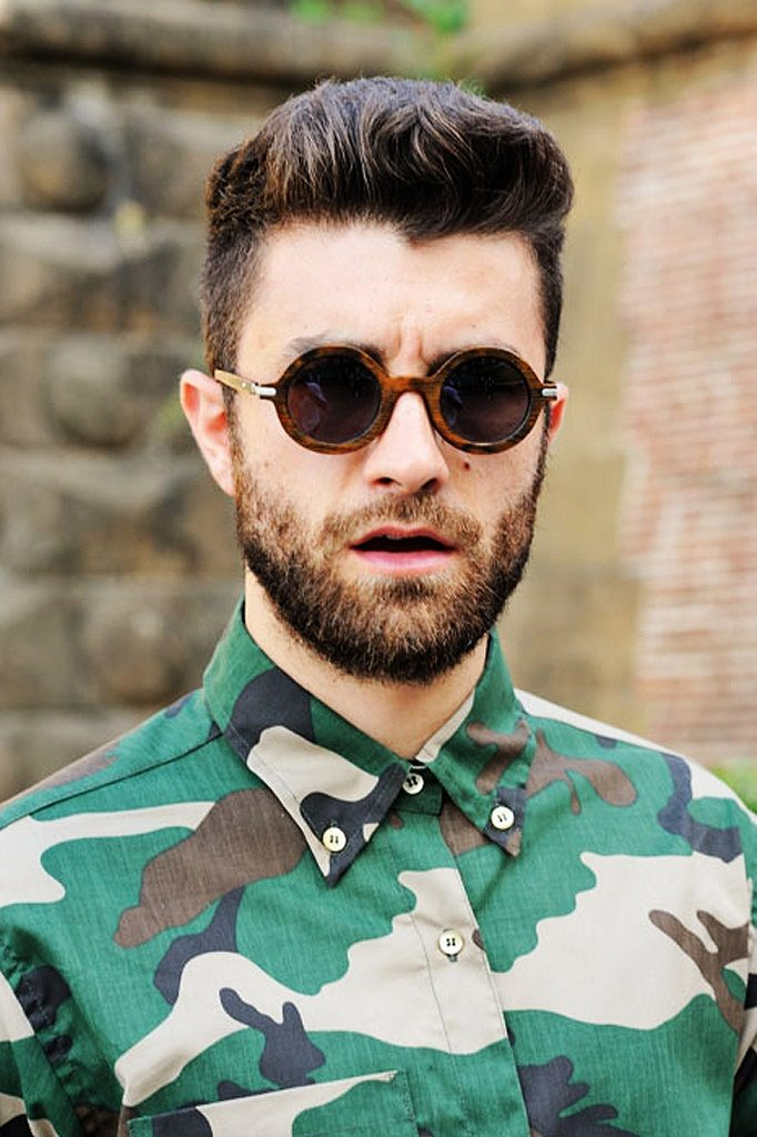 Фото мужчин в очках и с бородой - подборка 20 картинок (13)