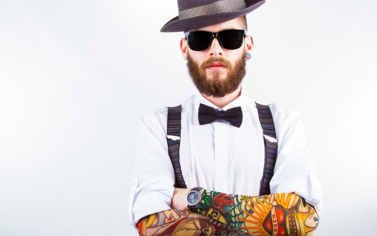 Фото мужчин в очках и с бородой - подборка 20 картинок (22)